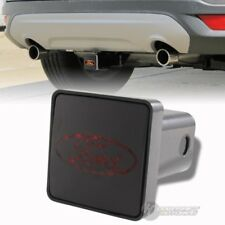 """Bully Hitch Cover 2"""" Rear LED Trailer Towing Receiver w/ Brake Lights for FORD"""