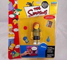 """Playmates The Simpsons Series 7 """"Dolph"""" World of Springfield Interactive Figure"""