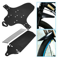 1Set Cycling Mountain Bike Bicycle Front+Rear Fenders MTB Mud Guards Mudguard