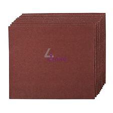 Toile émeri main feuilles abrasives 10pk grit 120 best for metal & rust removal