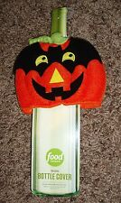 New - party - Pumpkin - halloween - Food Network - wine - Bottle Cover