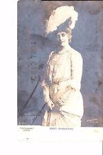 Actress  Mary Mannering  Real Photo @ 1906