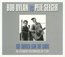 BOB DYLAN vs PETE SEEGER THE SINGER AND THE SONG - 2 CD BOX SET