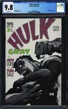 Hulk: Gray #3 CGC 9.8 Jeph Loeb Tim Sale Marvel