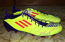 adidas F50 Yellow Athletic Shoes for