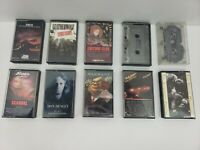ROCK N ROLL CASSETTE TAPES 10 Pc. LOT #7