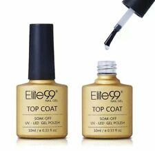 Elite99 10ml Long Lasting  Top Coat SOAK-OFF , Base Coat UV, LED GEL POLISH