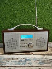 RED Wooden 583151 DAB/FM DIGITAL PORTABLE RADIO