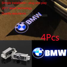 4x Laser Logo LED Car Door Step Ghost Shadow Courtesy Projector Light For BMW HD
