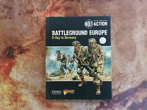 Battleground Europe - D-Day to Germany - Bolt Action Rulebook - Warlord Games