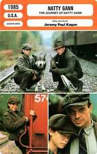 FICHE CINEMA : NATTY GANN - Salenger,Cusack,Kagan 1985 The Journey Of Natty Gann