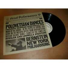 BERNSTEIN / NEW YORK PHILHARMONIC polovetsian dances - favorites russian CBS Lp