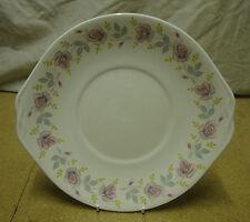 Queen Anne - 'ROSANNE' - Eared Cake Plate (23.5cm) Bone China