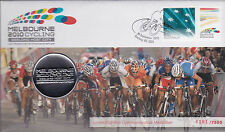 2010 UCI Road World Championships FDC - With Limited Edition Medallion 6101/7500