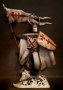 "12"" CUSTOM LIVONIAN KNIGHT GRAND MASTER, MEDIEVAL GERMAN ORDER 1/6 FIGURE IGNITE"