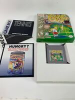 Tennis Original Nintendo Game Boy Game Complete W / Box & manual