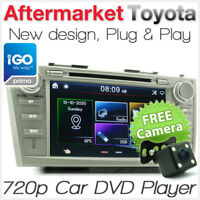 """8"""" Car DVD GPS Player For Toyota Aurion Camry Stereo Sat Nav Head Unit ACV40R AT"""