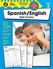 100+ Series: Spanish / English Math Practice, Grade 2 (The 100+ Series) (English