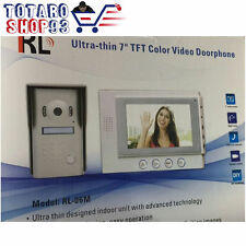 """CITOFONO CAMPANELLO WIRELESS CASA SICUREZZA 7.0"""" COLORI LCD VIDEO"""