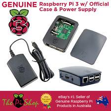 Raspberry Pi 3 + Official Case + Official 5.1v 2.5a Power Supply | Starter Pack