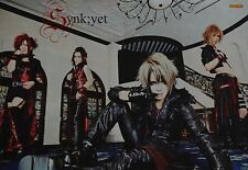 SYNK; yet-POSTER a3 (circa 42 x 28 cm) - J-rock band skinning fan Raccolta Nuovo