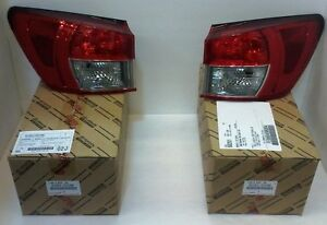 LEXUS OEM FACTORY REAR OUTER TAIL LAMP LENS SET 2008-2014 IS F