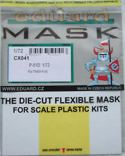 Eduard 1/72 CX041 Canopy Mask for the Tamiya P-51D Mustang kit