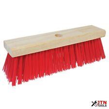More details for silverline 245081 broom head pvc bristle 300mm (12