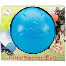 Jolly Pets 8 inch Soccer Ball - Ocean Blue