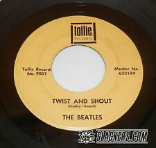 "THE BEATLES Twist and Shout Orig TOLLIE #9001 7"" 45rpm Monarch Press TEST PLAYED"