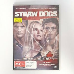 Straw Dogs Movie DVD Region 4 PAL Free Postage - Thriller Horror