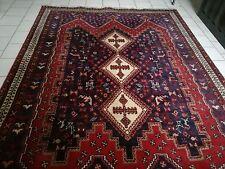 ** Tappeto persiano tessuto a mano Sirjan Sirgian Afshar 228 x 165 cm TOP **
