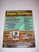 POPULAR ELECTRONICS Magazine, OCTOBER 1976, AUTO ELECTRONICS PROJECTS, CB KIT!