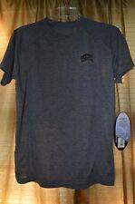 Skinz loose fit L/Xl Youth short sleeve sports shirt 100% microfiber grey