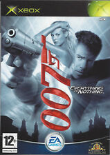 JAMES BOND 007 EVERYTHING OR NOTHING for Xbox - complete - PAL