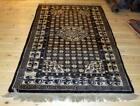 Antique Woolen Oriental Carpet Rug made of undye wool - Mongolia
