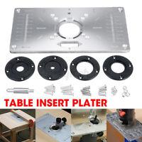 Multifunktions Router Tisch Einsatz Platte Für Holz Arbeit Trimmer Bänke