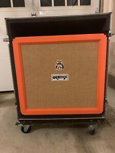 Orange PPC412 4x12 w/ Custom Case