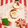 1*Christmas Stainless Steel Cake Pastry Cookie Cutter Cake Decoration Mold Tool