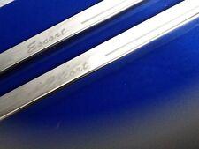 Escort Mk1 68-75 Door Sills gravé inoxydable Kick plaques