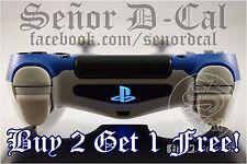 1x Sony Playstation PS Logo PS4 Controller Lightbar Decal Sticker