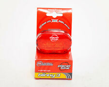 Planet Bike Blinky 3 Taillight,Rear Light w/Batteries