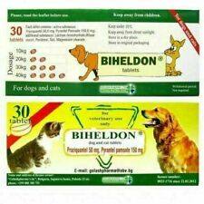 New Stock exp:01/2023 Dog Cat Puppy Wormer Broad Spectrum Dewormer Woming 30Tabs
