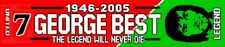 George Best of Man United Legend Football Scarf Football Gifts
