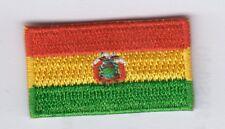 Bolivia, Bolivia, patch, aufbügler, ricamate 3,5 cm * 2,0 cm
