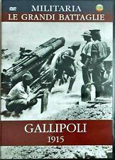 Gallipoli 1915 Dvd Militaria Le Grandi Battaglie