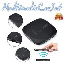 Caricatore wireless charger nero Fantasy Qi Standard con luce