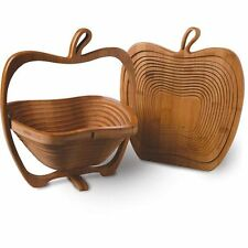 Bamboo Apple Style Fruit Basket- S