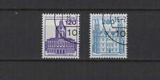 1982 Allemagne Berlin chateaux 2 timbres oblitérés/T2254