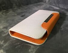 Premium Wallet Card Magnetic Case Cover For HTC ONE X + Handstrap
